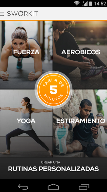 """TOP 5 """"MEJORES APPS FITNESS"""""""