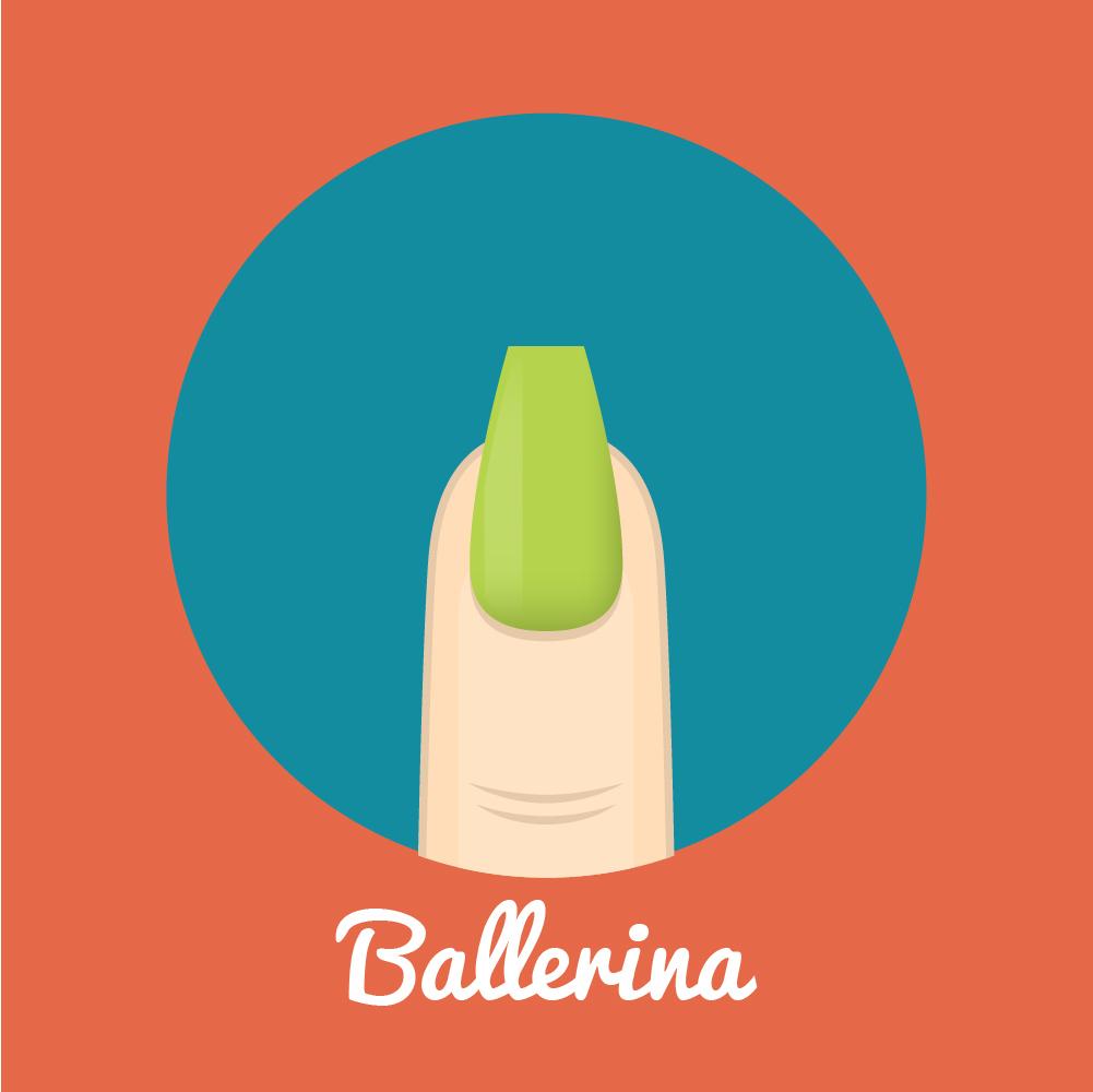 Sahpe Nails_Ballerina