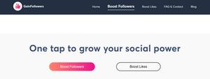 Boost Instagram followers
