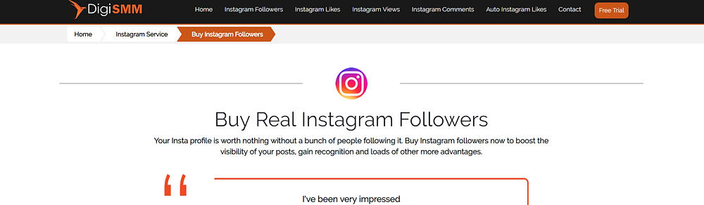 free trial for instagram followers