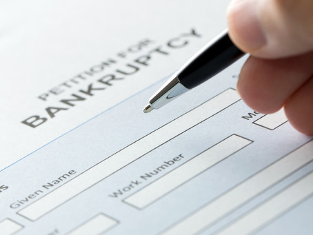 Personal bankruptcies at their lowest level in four years