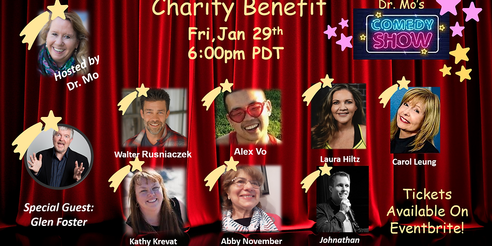 Dr. Mo's Charity Benefit Comedy Show