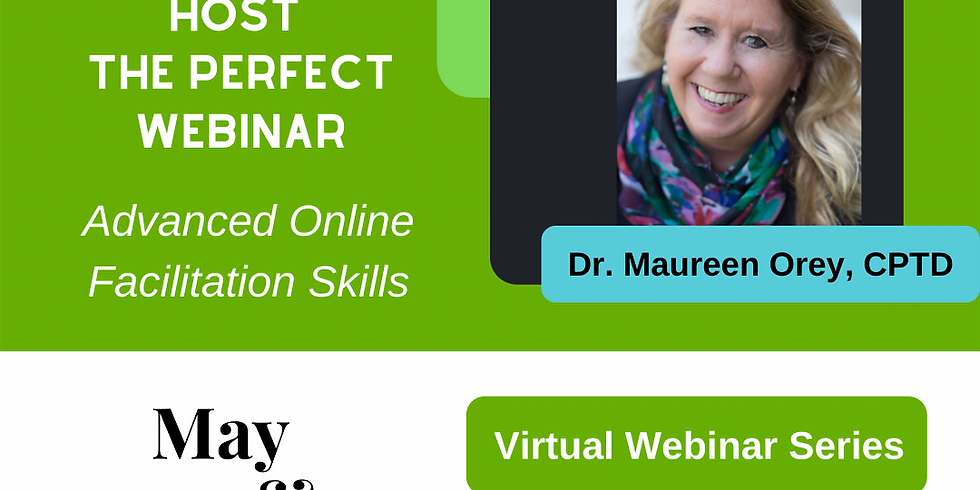 Host the Perfect Webinar! 3 Day Master Series