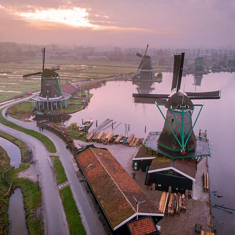 Windmill village Zaanse Schans