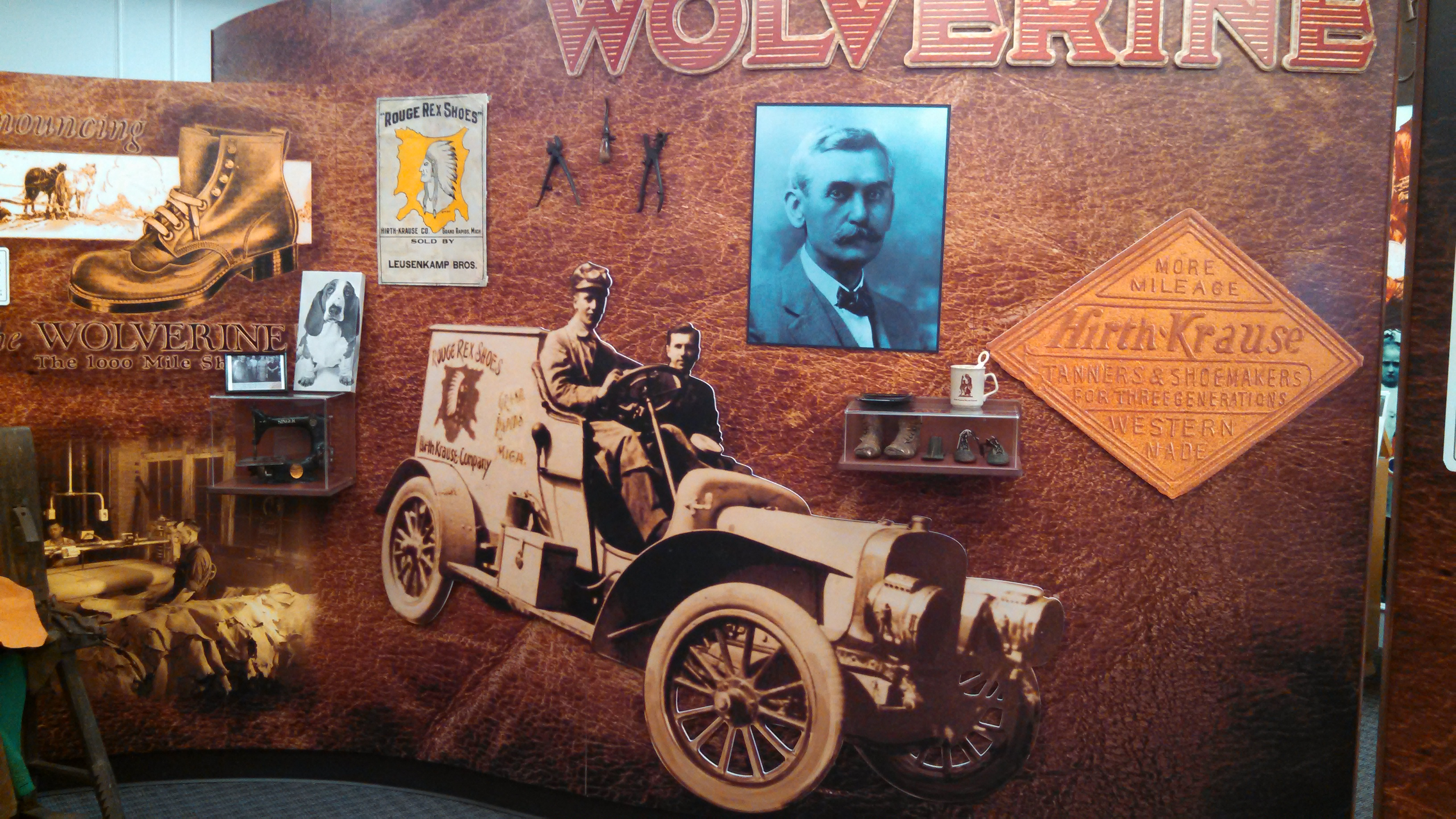 Wolverine World Wide exhibit