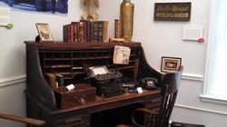 Doctor DeMaagd's desk