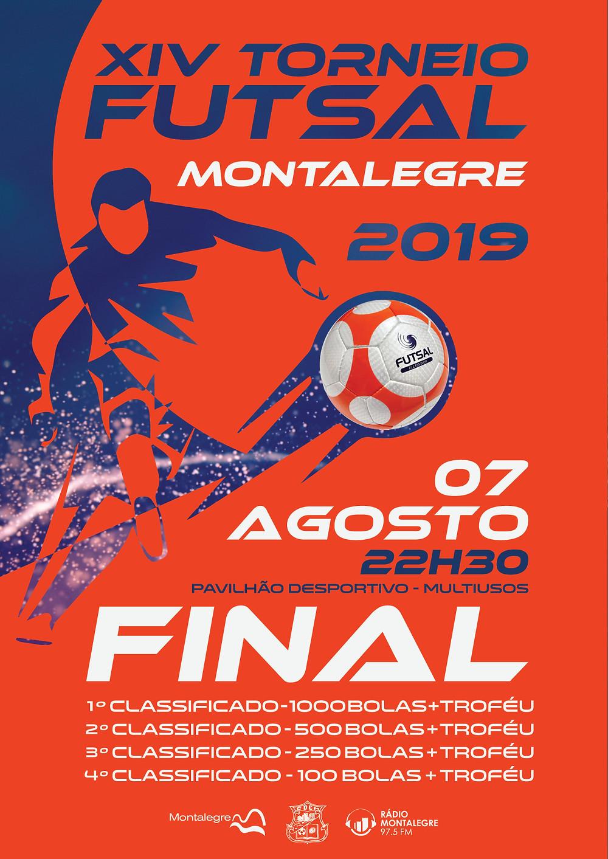Cartaz do XIV Torneio de Futsal|Peneda Gerês TV
