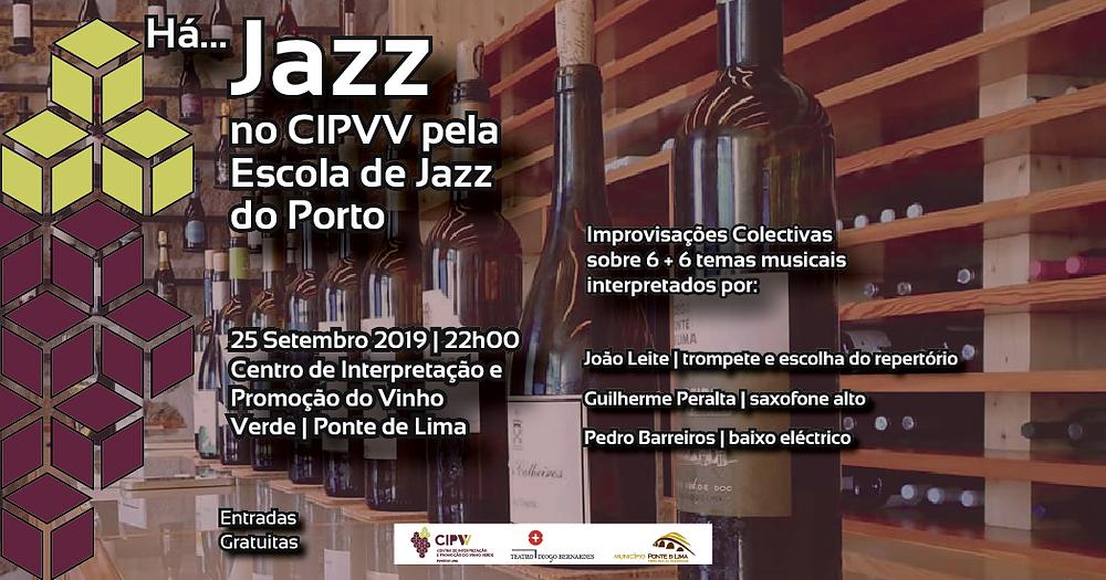 Cartaz Há...Jazz no CIPVV  Peneda Gerês TV