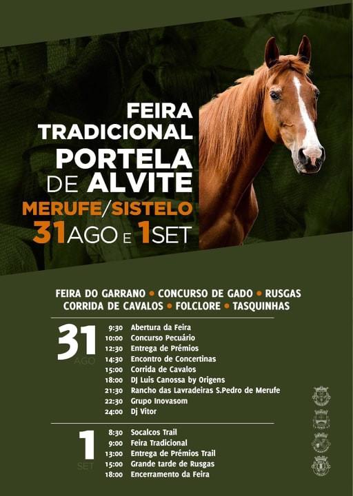 Cartaz da Feira Interfreguesias da Portela de Alvite| Peneda Gerês TV
