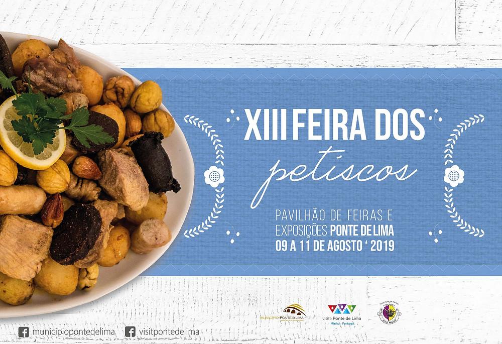 Cartaz da Feira dos Petiscos, Ponte de Lima  Peneda Gerês TV