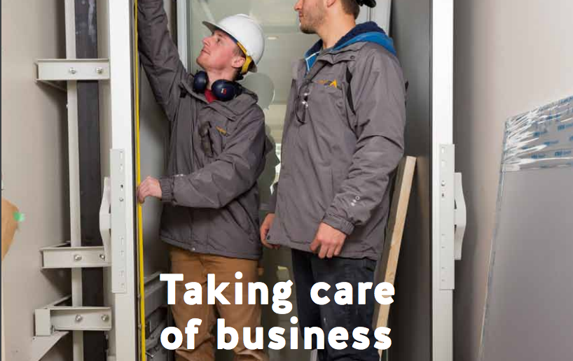 #ThrowbackThursday to staying safe in the WorkSafe Magazine