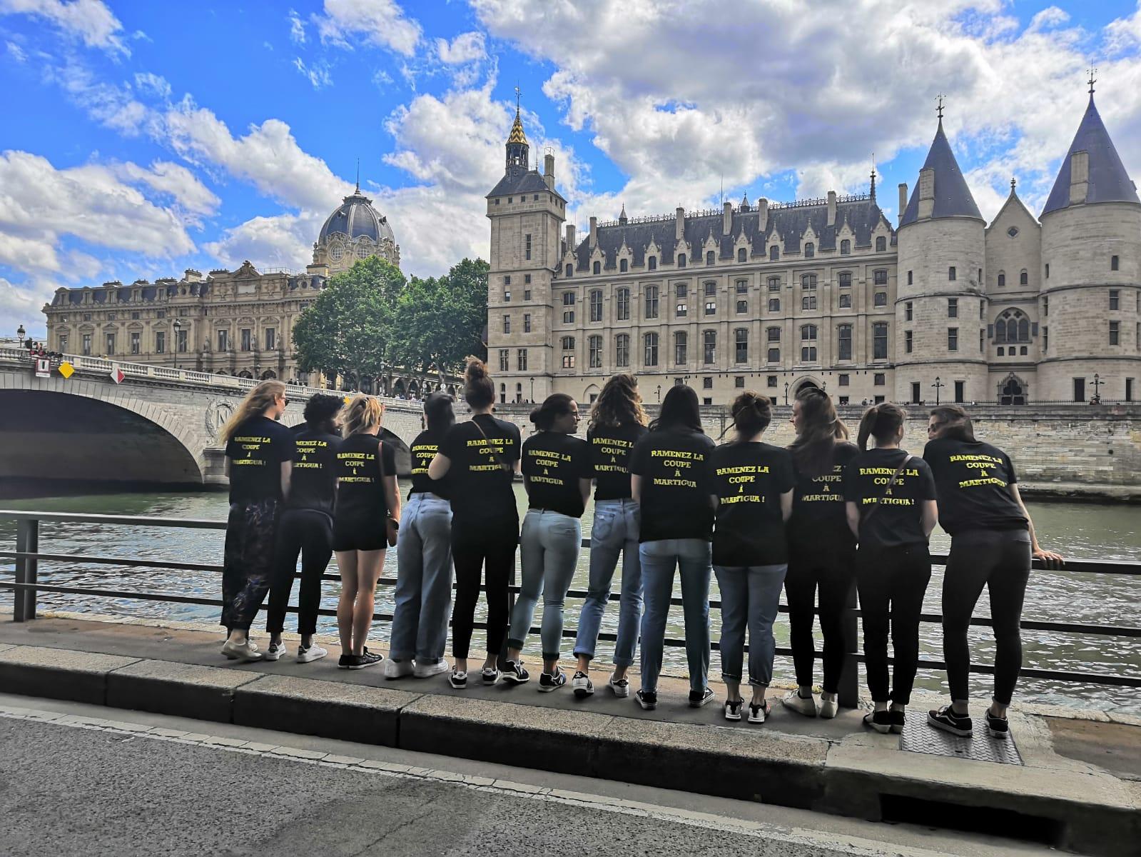 Martigua sur les berges de Seine