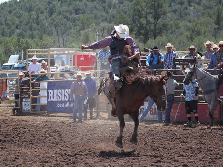 World's Oldest Continuous Rodeo Stampedes in to Payson, AZ