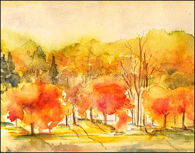 Autumn 8x10