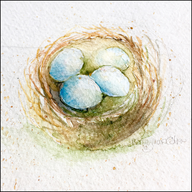 Robins Nest 4x6 (sold)