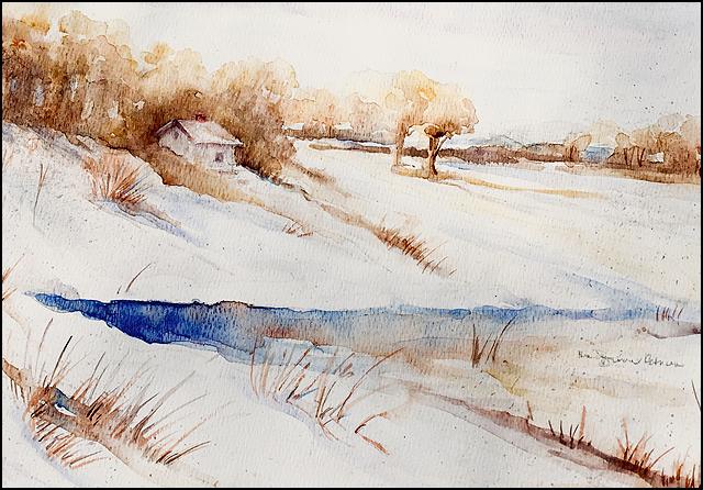 Winter 9x12