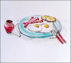 Breakfast 5x7