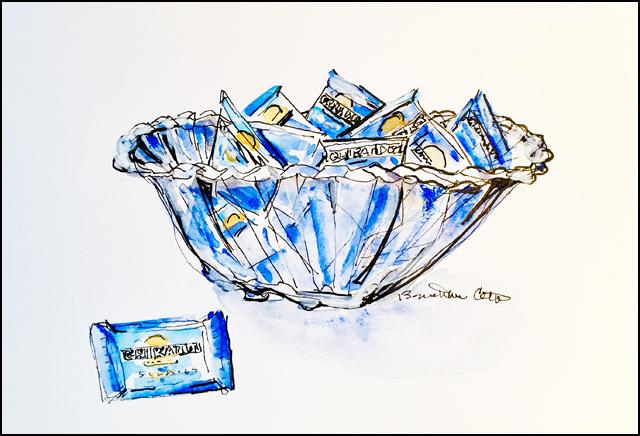 Candy Bowl 5x7