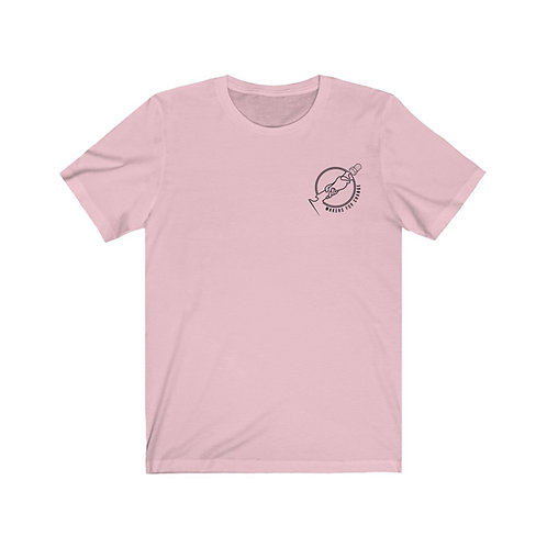 Light Pink Makers For Change Jersey Short Sleeve Tee