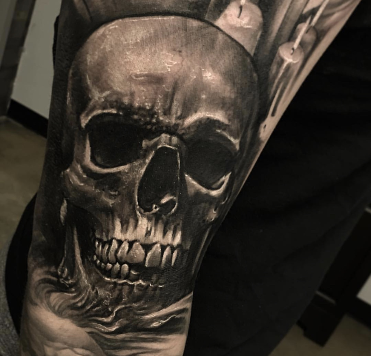 best skull tattoo