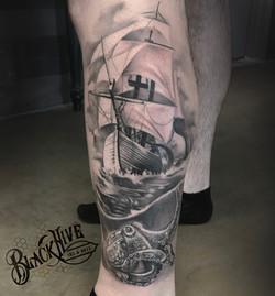 ship octopus