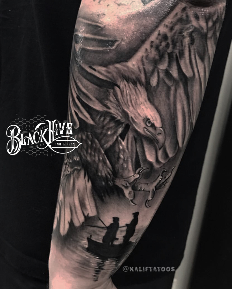 EAGLE black and grey