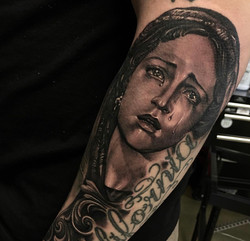 religious tattoo marry