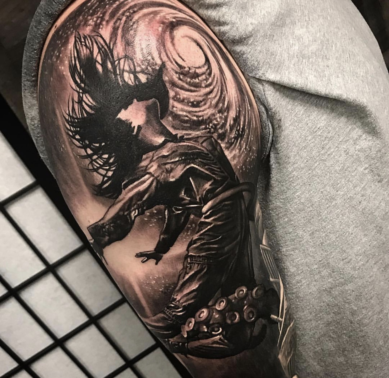 best black and grey tattoo