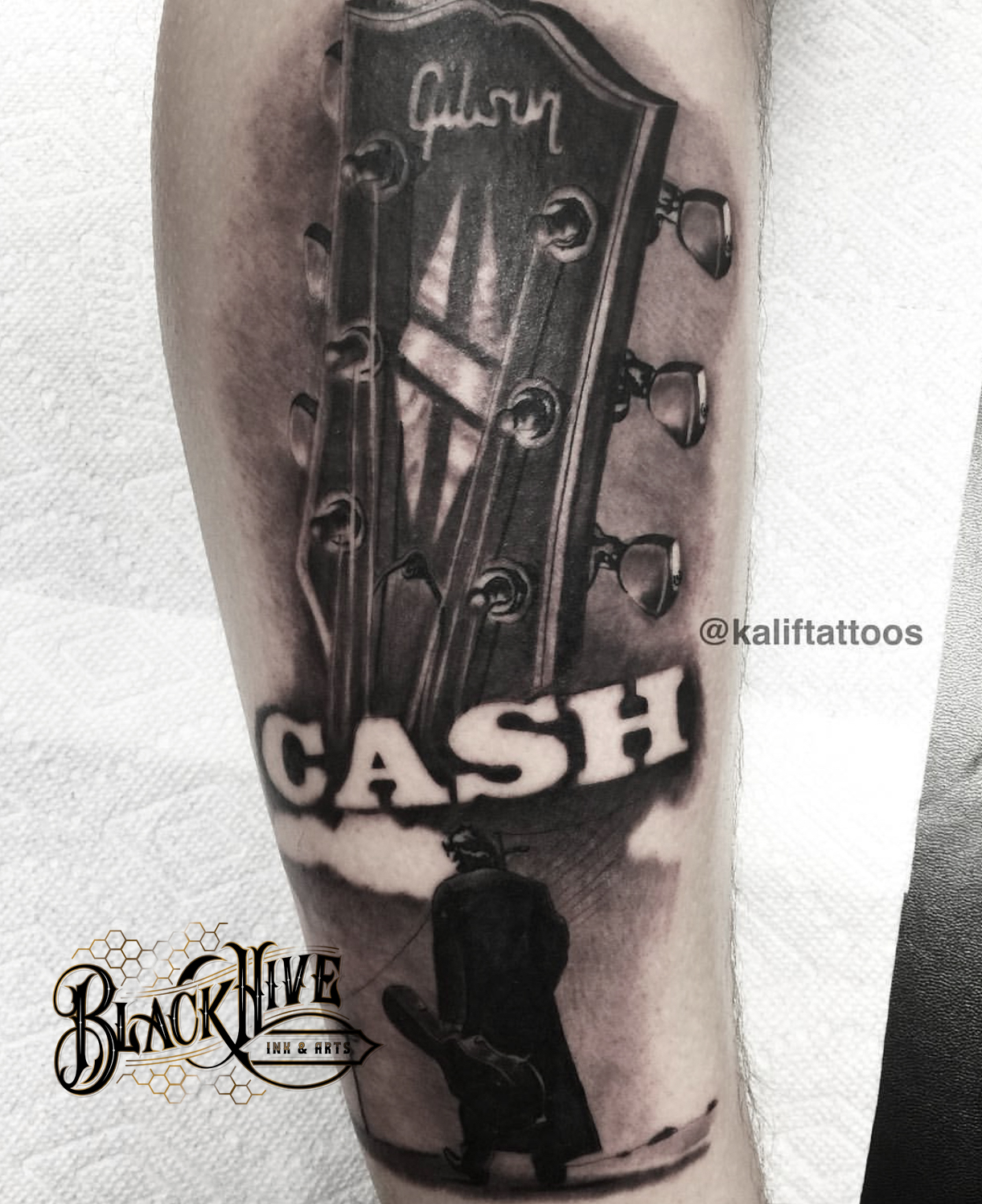 johnny cash best tattoo ink