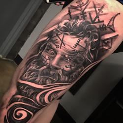 odin tattoo viking tattoo