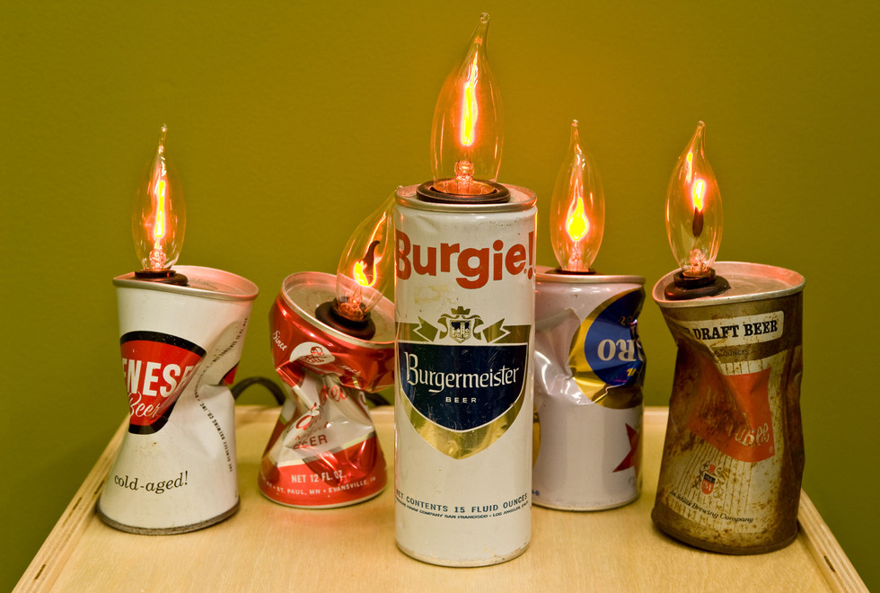 BEER CAN LANTERNS