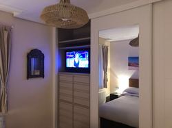 Interior armario lacado personalizad