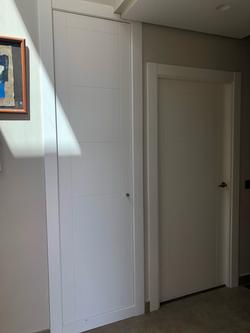 Puerta y Armario lacados
