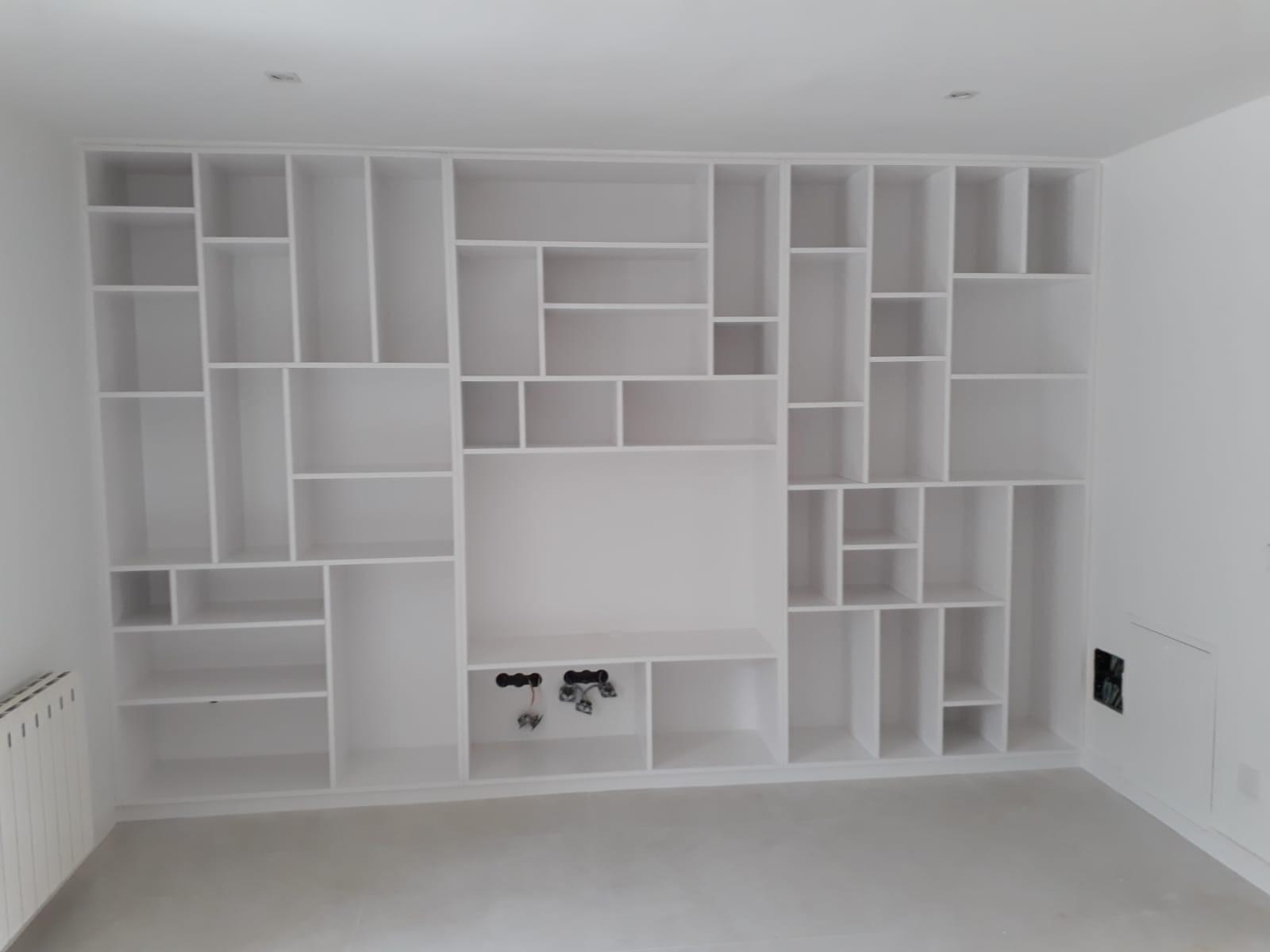 Mueble lacado a medida