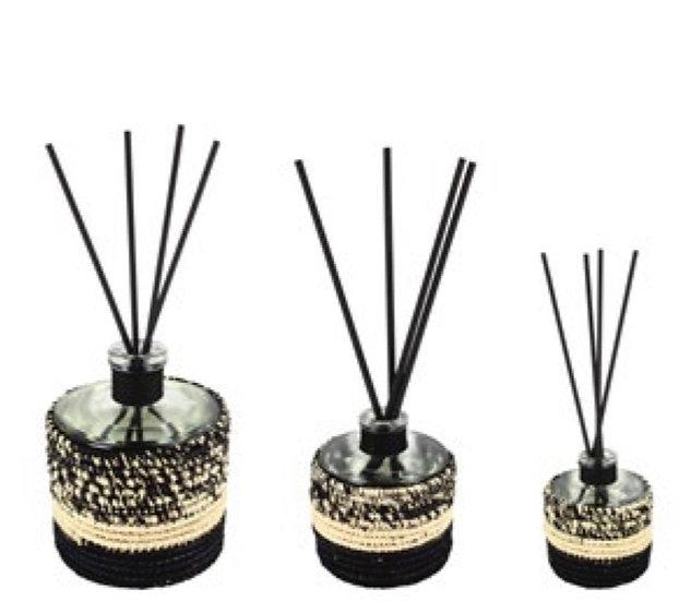 Capillas Diffuseurs de Parfum Raphia Mogador Noir