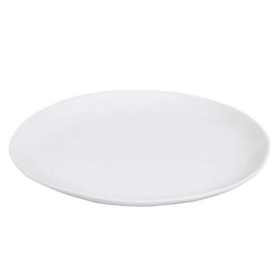 Assiette Porcelino Ovale 28 cm