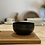 Thumbnail: Meditation Bol en Aluminium Email Noir 12,5cm