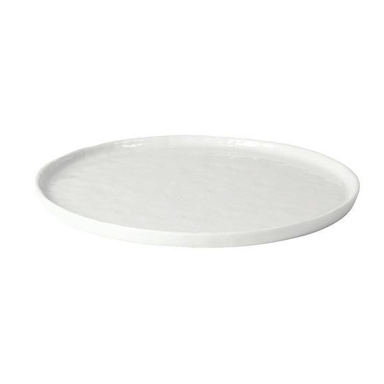 Porcelino White Assiette Plate