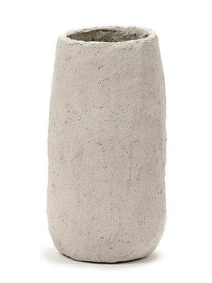 Vase Marie Papier Maché beige