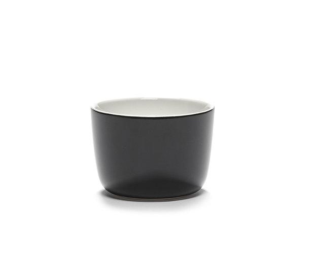 Tasse à Cappuccino Vincent Van Duysen pour Serax 20cl Email Noir