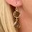 Thumbnail: Boucles d'oreilles Double Crystal Fumé