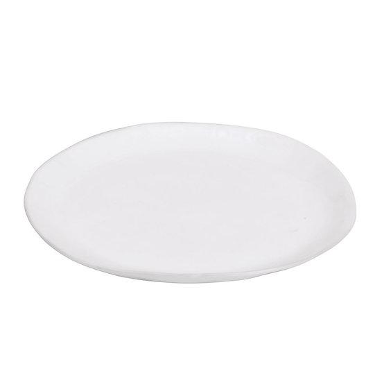 Porcelino Ovale Assiette à Dessert 23cm