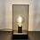 Thumbnail: Lampe de Table Cage Verre fumé