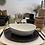 Thumbnail: Assiette Porcelino White Creuse