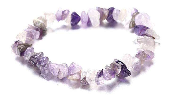 Colour Stone Amethyst Bracelet