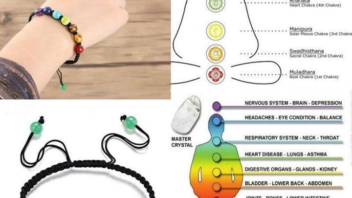Chakra Balance Beads Bracelet