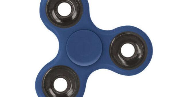 Fidget Finger Spinner Hand Focus Spin Bearing Stress Toys Blue