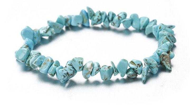 Colour Stone Turquoise Bracelet