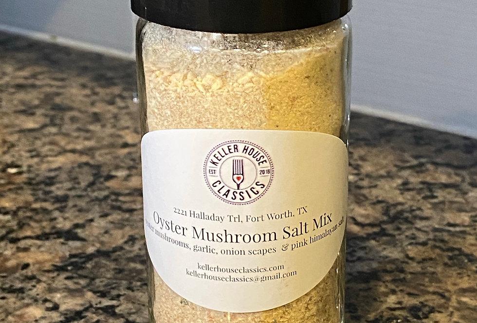 Custom Blend Oyster Mushroom Salt