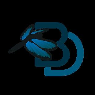 Blue Dragonfly Labs monogram logo